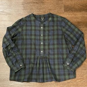 Madewell Popover Shirt *size S*